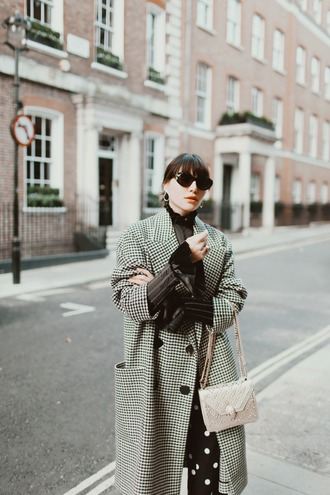natalie off duty blogger coat top pants bag winter outfits winter coat