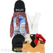 bag,moschino bag,ballin paris,crop tops,jewels,hat