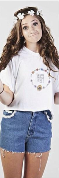 shirt radiate positive vibes