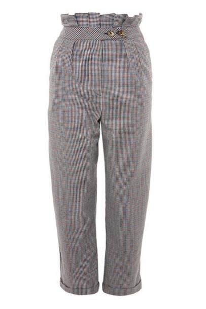 Topshop ruffle pants