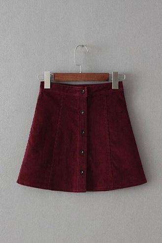 skirt grunge red burgundy burgundy dress