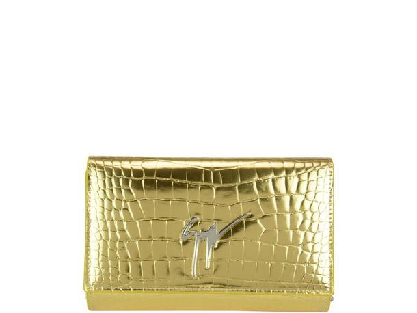 Giuseppe Zanotti bag gold