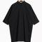 & other stories   cotton shirt dress   black