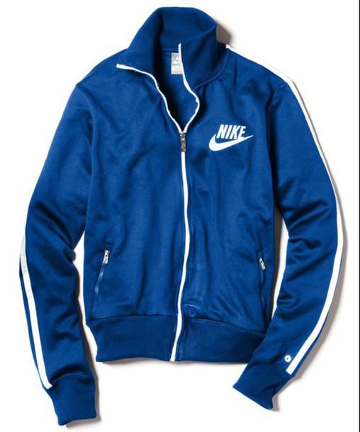 coat blue nike