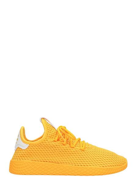 Adidas Pharrell Williams Tennis Hu Sneakers in yellow