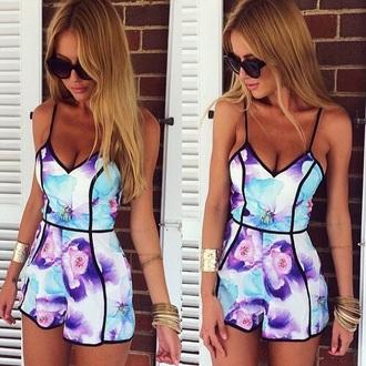jumpsuit fashion girly dress awesome leopard gloves summer dress summer top beach dress belt style shorts dress top tank top