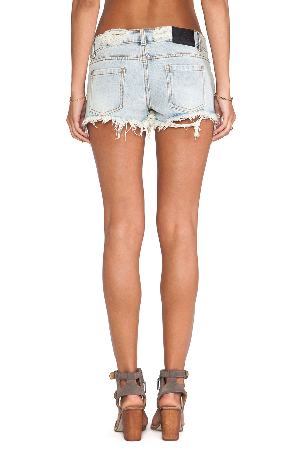 UNIF Hazy Dukes Short in Bleach from REVOLVEclothing.com