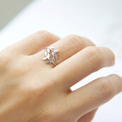 jewels,silver,pretty,silver leaf ring,ring,leaves
