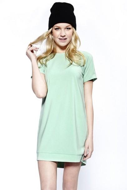 Dress Mint Dress Shift Dress
