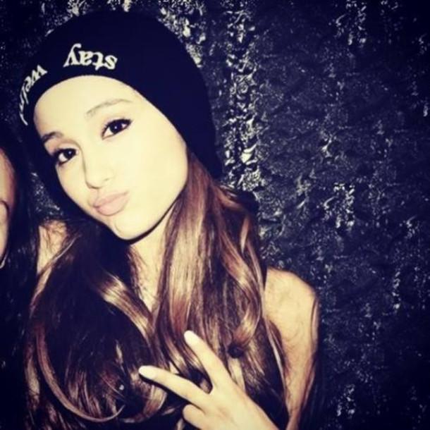 Instagram Ariana Grande Hat