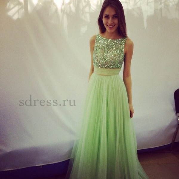 dress prom dress prom dress prom gown long prom dress mint dress prom dress ball gown dress evening dress starry night