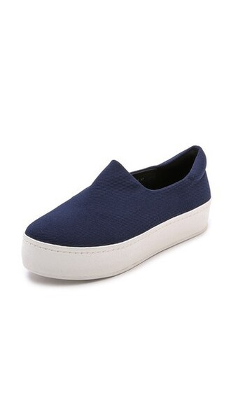 sneakers platform sneakers navy shoes