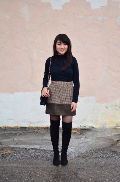 daily disguise blogger skirt shoes