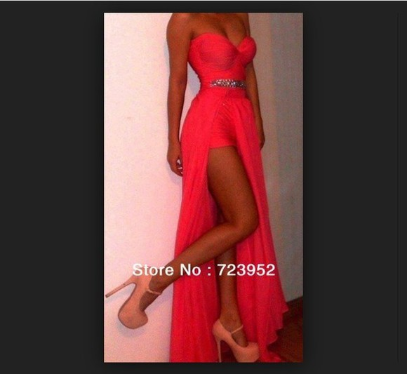 dress prom dress red dress red red dress with detailing royal blue dress formal dresses prom sequin romper