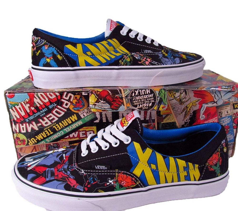 Vans XMEN X-MEN Marvel Comics Era Lo Skate Shoe Sneaker 00498096