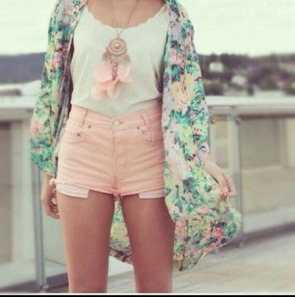 cardigan flower crown floral