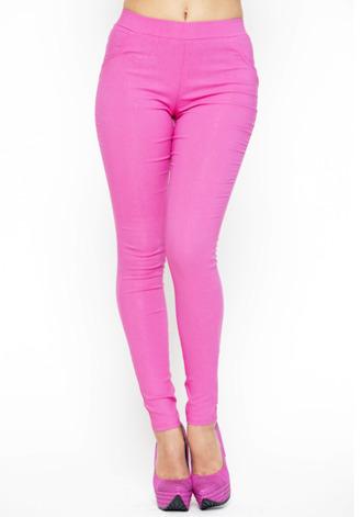skinny pants pink pants