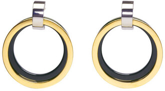 earrings hoop earrings green jewels