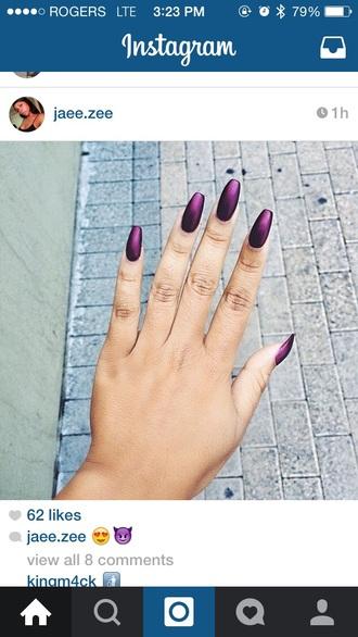 nail polish purple nails essie opi