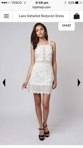 dress,white,cocktail dress,topshop