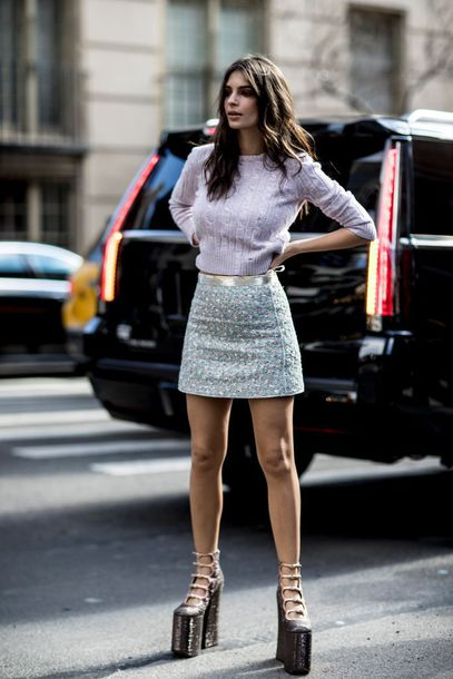 Skirt Nyfw 2017 Fashion Week 2017 00s Style