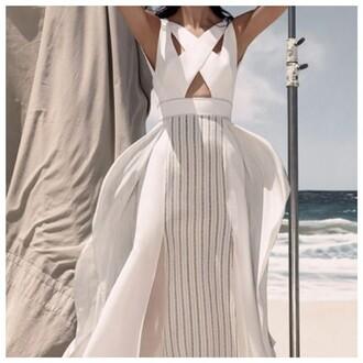 dress white dress beige dress