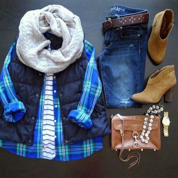 shirt blouse shoes