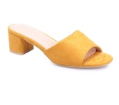 shoes,mule,moutarde,slippers,mustard