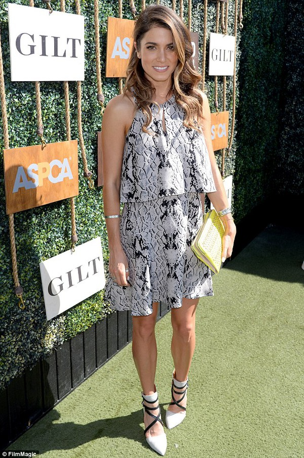 dress snake print nikki reed shoes bag