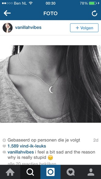 jewels moon necklace