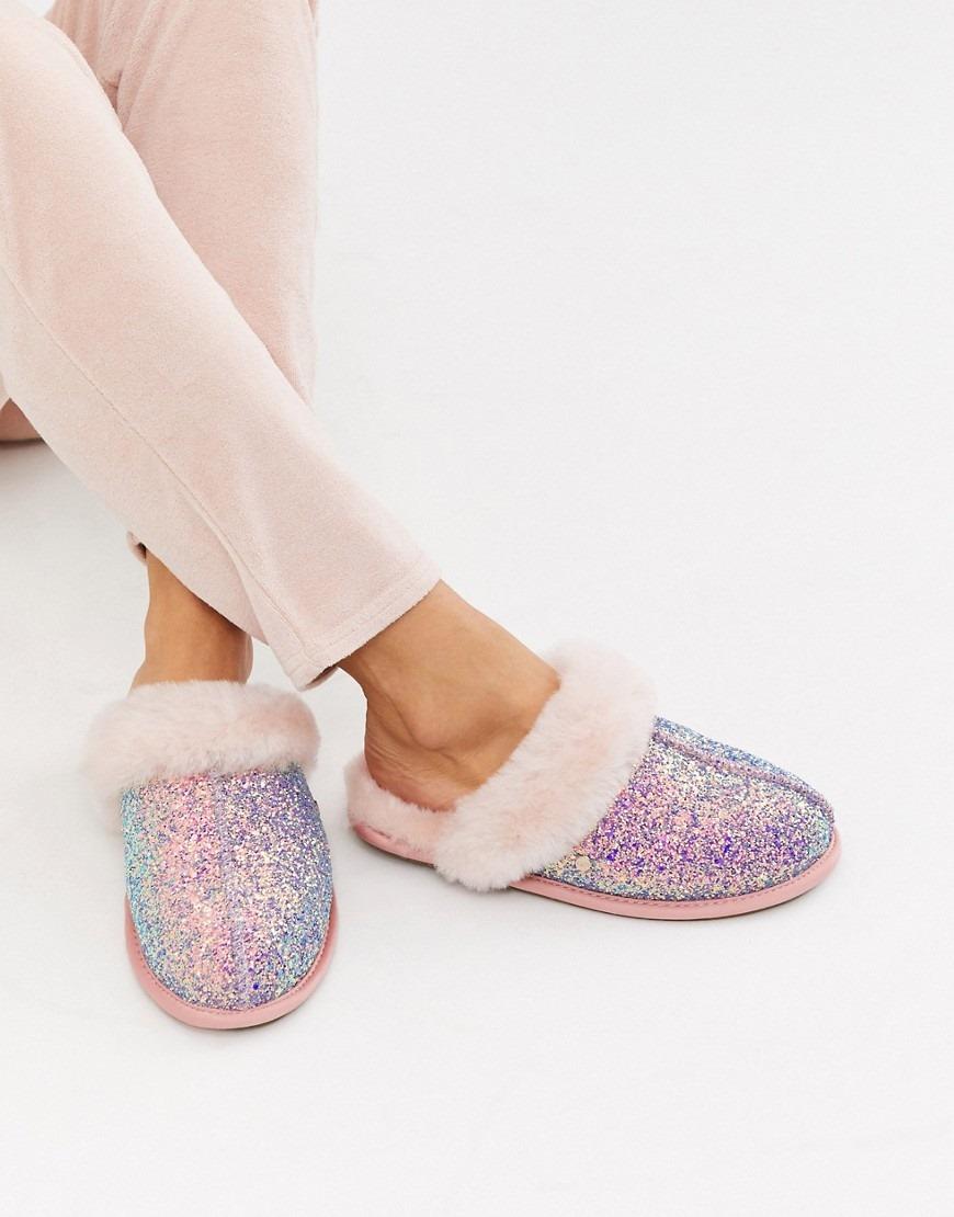 UGG Scuffette II Cosmos Glitter Slippers