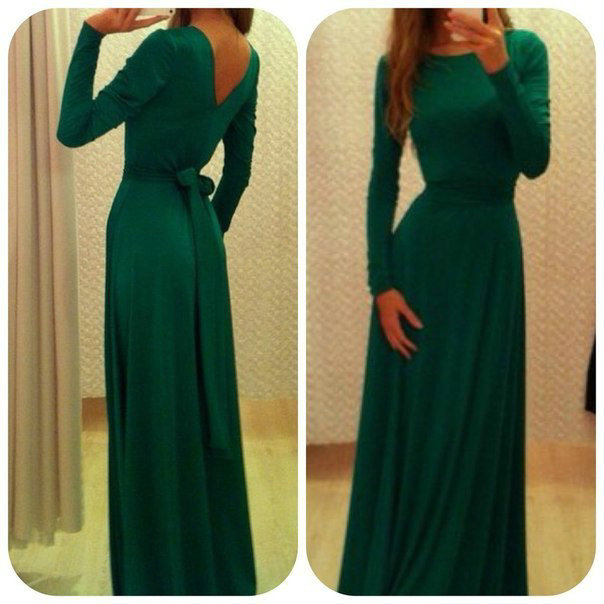 Aliexpress.com : Buy Free Shipping High Neckline A line Modest Prom Dress With Sash Long Sleeves Green Formal Evening Dresses from Reliable dresses lemon suppliers on 27 Dress