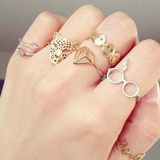 hair accessory ring gold fashion style