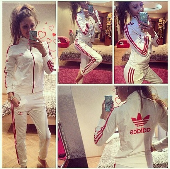 pants outfit jumpsuit adidas tracksuit sportswear sweater classic tracksuit bottoms sports pants jumper