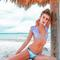 Revel rey bandolero bikini top - hide/lilac