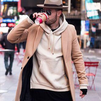 sweater maniere de voir beige nude hoody nude hoody beige sweater