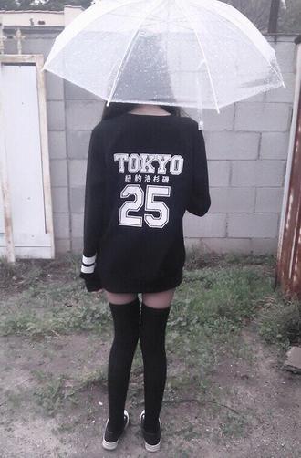 sweater japanese fashion tokyo 25 tokyo fashion black white japanese writing