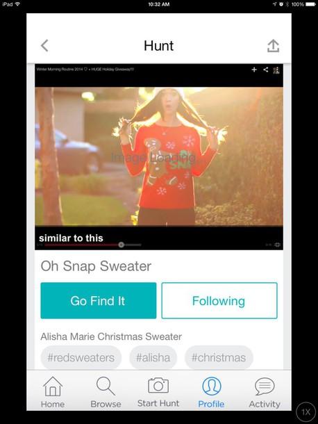 sweater alisha marie