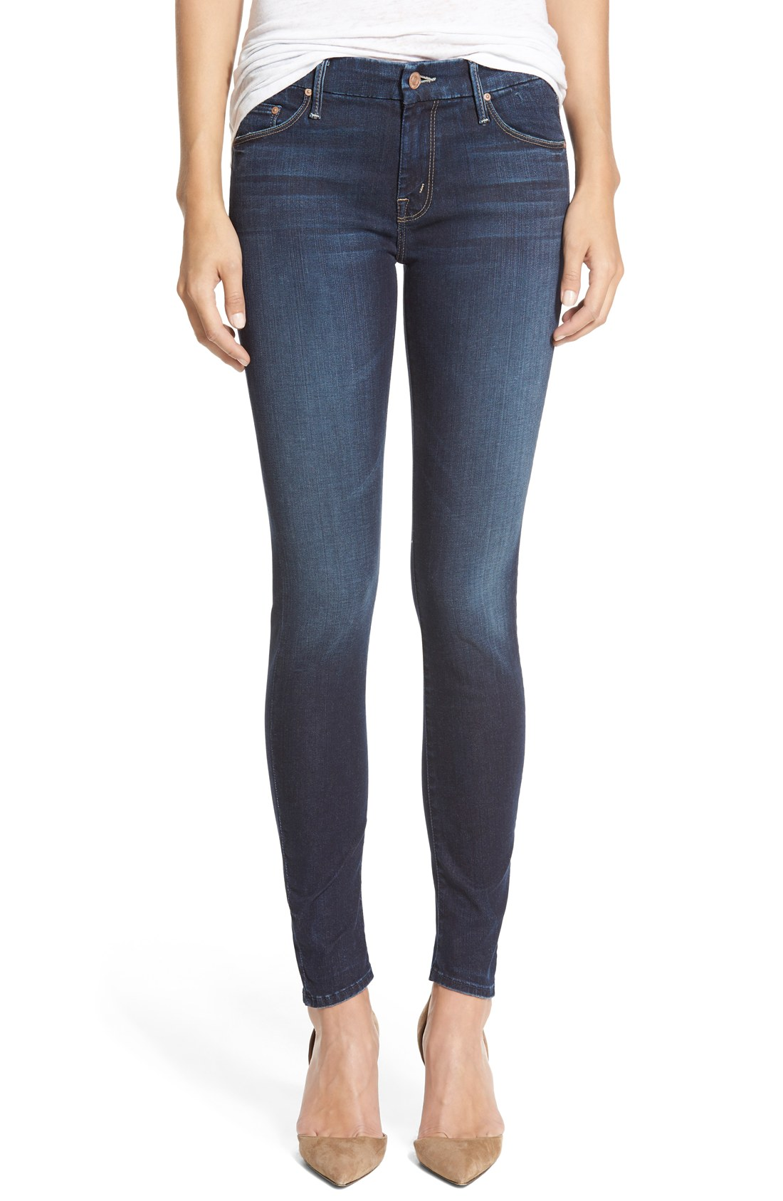 The looker skinny jeans mother