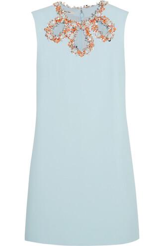 dress embellished blue