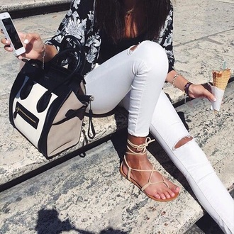 shoes sandals nude outfit fashion style