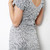Silver Sequined Dress - Lookbook Store