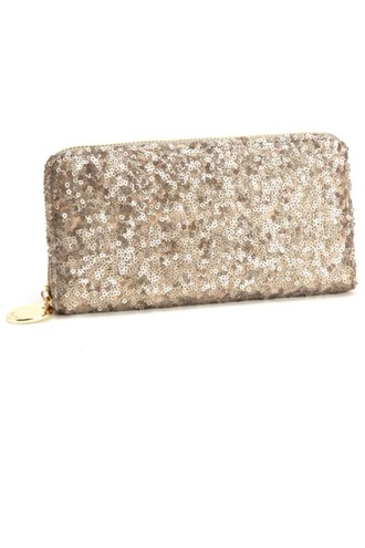 gold bag clutch sequins