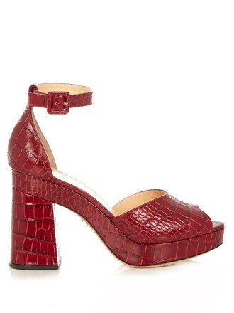 heel sandals leather sandals leather burgundy shoes