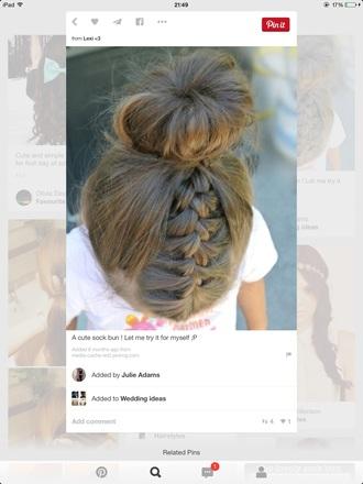 hair accessory braid bun