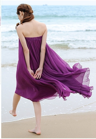 skirt maxi skirt purple dress summer dress beach dress beach best bitches beach wedding vintage dress