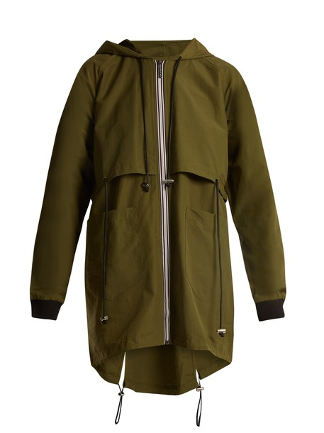 The Upside jacket cotton khaki