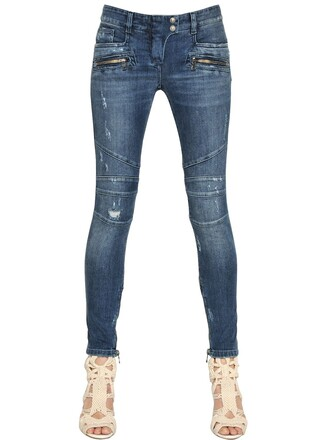 jeans denim cotton blue