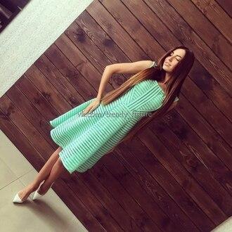 dress mint dress green dress midi dress