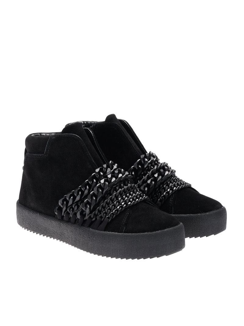 Kendall + Kylie Leather Sneakers